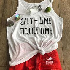 """93 Likes, 11 Comments - Shark's Bites Of Life (@sharksbitesoflife) on Instagram: """"For your summertime weekend needs😎 salt + lime = tequila time!! . . #sharksbitesoflife #summer…"""" #fitness #fashion #tequila"""