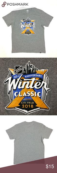 14b7cc46f NHL Winter Classic 10th Anniversary T Shirt Medium NHL Winter Classic 10th  Anniversary T Shirt Medium