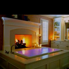Decided! I will do some variation of this design in my master bath someday!!! Omg!