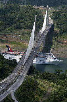 Puente Centenario (2004), Panama Canal. Dynatec se interesa por lo relacionado con la #ingeniería. Visita nuestro blog: http://www.dynatec.es/blog/