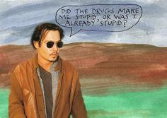 Did the drugs make me stupid, or was I already stupid? – Michael Lipsey