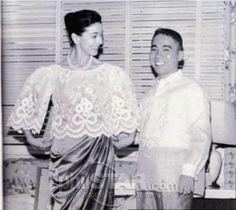 Lopez companies pay tribute to Pitoy Moreno Filipiniana Dress, Barong, Maria Clara, Ruffle Blouse, Style Inspiration, Pinoy, Filipino, Philippines, Pride