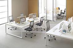10 Idees De Bureaux Paysagers Mobilier Bureau Bureau Mobilier