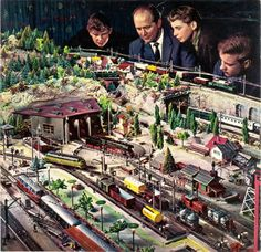 Model train advice - Gather together all of the materials you will need before starting your needed supplies. You do not want to take up a project since you don't have what you need to complete it. Build a list and obtain all of it beforehand. Train Ho, European Models, Train Table, Hobby Trains, Rc Cars And Trucks, Model Train Layouts, Train Tracks, Best Model, Arts And Crafts Supplies