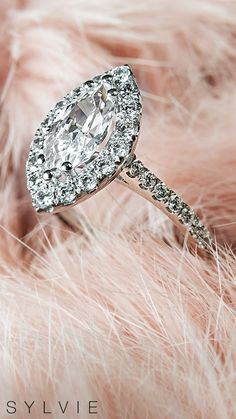 Did you know the marquise cut diamond originated in the 18th century to emulate the shape of the lips of King Louis's chief mistresses in his court, Madame de Pompadour. See more of this romantic and bold cut here! (Style Shown: Jacalyn Ring S1199) #SYLVIE #SylvieCollection #EngagementRings #MarquiseRings #DiamondRing #WeddingRing #Rings #Diamonds #EngagementRing Halo Engagement Rings, Designer Engagement Rings, Marquise Cut Diamond, Diamond Rings, Pompadour, Ring Designs, 18th Century, Diamonds, Lips