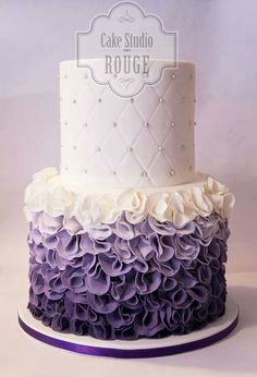 cute cake idea for a Baby Shower or Wedding