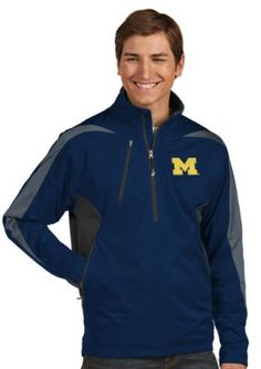 Antigua  Michigan Wolverines Discover Jacket