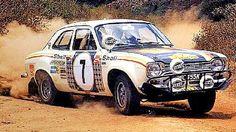 1972 Safari, Hannu Mikkola, Ford Escort RS1600, winner