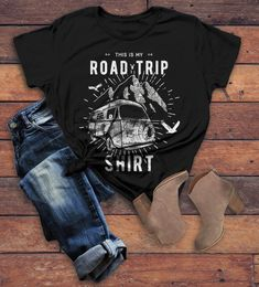 78dfcf247 Women's Hipster Road Trip T-Shirt Mountains Adventure Camping Shirt.  Adventure GiftsVintage HipsterTees ...