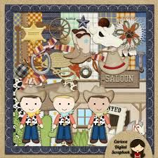 Image result for Cowboy scrapbook layouts