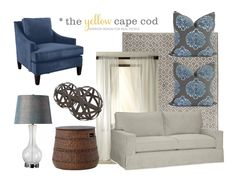 The Yellow Cape Cod: Warming Up A Cool Color Palette With Rich Wood Tones