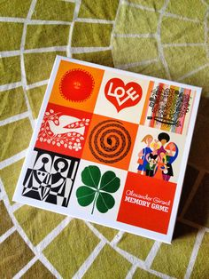 Alexander Girard Memory Game (AMMO Edition)  ===  Uses House Industry's Girard Slab and Girard Script.