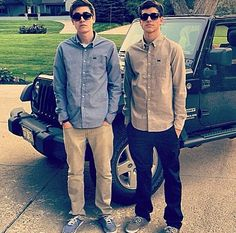 Jack g and Sam wilkinson