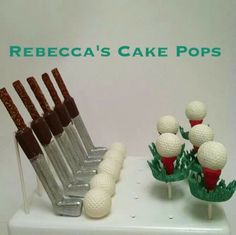 How neat! By Rebecca's Cake Pops