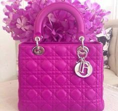 Hot pink Lady Dior!
