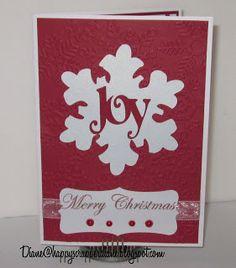 HappyScrapper Diane's Treasures: Exploring Cricut Christmas Card Blog Hop