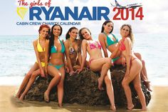 Ryanair calendar 2014: Sexy pictures of real-life cabin crew posing for charity #Ryanair #calendar2014