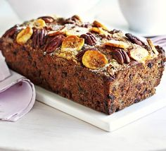A tasty cake with no added fat or sugar - try it to believe it. Plus it's easily made gluten-free