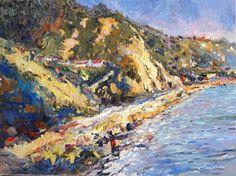 """ღღ """"SUNNY CALIFORNIA (SEASHORE IN SOUTH CALIFORNIA)"""" bySuren Nersisyan"""