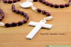 Image titled Pray the Lutheran Rosary Step 2