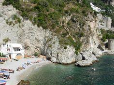 Spiaggia di conca dei marini - amalfi