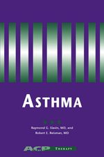 Asthma is a major medical problem in the United States, one that is being diagnosed with increasing frequency. Almost 75% of patients with asthma are adults, and more than 2500 adults in the United States die each year from the disease. The latest volume in the ACP Key Disease Series, Asthma is intended for primary care physicians, who provide the majority of care for adult asthma patients.
