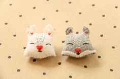 The Felted Fox: SQUIRREL PINS SEWING TUTORIAL