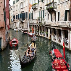 Explore the canals of Venice with a Mediterranean Cruisetour.