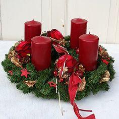 adventskranz modern bordeaux weihnachten advent. Black Bedroom Furniture Sets. Home Design Ideas