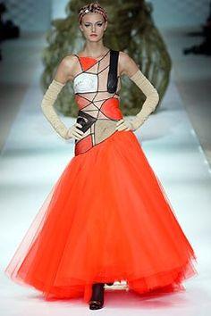 Jean Paul Gaultier Spring 2003 Couture Fashion Show - _Miro_