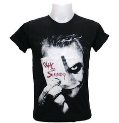 Joker Shirt | eBay have it say something about rushing..? Like why so serious? we're sweethearts Back: rush SKO