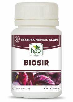 Jual Biosir agen stokis resmi HPAI, produk herbal Biosir harga murah standar HPA Indonesia di http://www.agenhpai.com/biosir.html