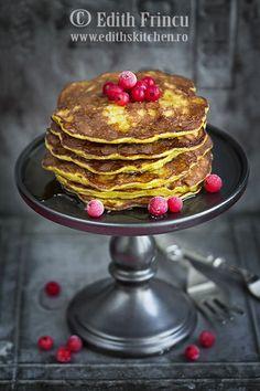 pancakes cu banane 1