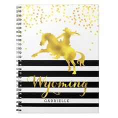 Golden Wyoming Glam, Notebook