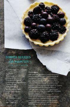 Summer Berries and yogurt tart