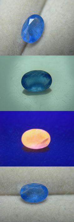 Sodalite 69179: Extremely Rare Gem Blue Sodalite Mogok Burma Strong Orange Fluorescent Gemmy -> BUY IT NOW ONLY: $449.99 on eBay!