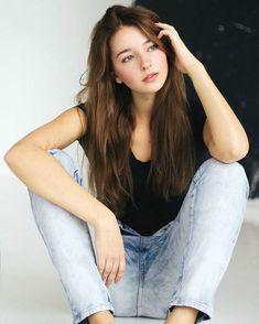 """cutiefanatic: """"adore-women: """"Angelina Danilova """" It's my favorite cutie! Beautiful Girl Image, Gorgeous Women, Pretty People, Beautiful People, Angelina Danilova, Chica Cool, Cute Girl Face, Ulzzang Girl, Aesthetic Girl"""