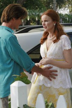 Kyle MacLachlan, Marcia Cross ~ Desperate Housewives ~ Season 4, Episode 1: Now You Know ~ Episode Still (2007) #amusementphile