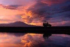 Sunset in the Volcanic Kamchatka Peninsula by Chris  Burkard #xemtvhay