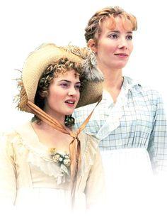 the dashwood sisters - this version is definitely my favorite Austen film.