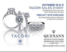 Tacori Event @ Quenan's Jewelers