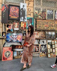"@ladykallisti on Instagram: ""[An artistic wall is always a good background ] #konstantinoupoli #streetstyle #streetart #travellers #palpfiction #rennaissance #cultmovie…"" Street Art, Street Style, Cult Movies, Gallery Wall, Artist, Instagram, Home Decor, Fashion, Moda"