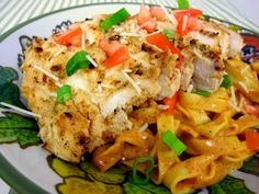 Chicken Enchilada Pasta | Plain Chicken