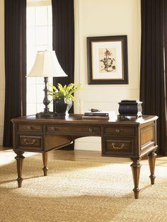 Breckenridge Castle Pines Desk | Lexington Home Brands