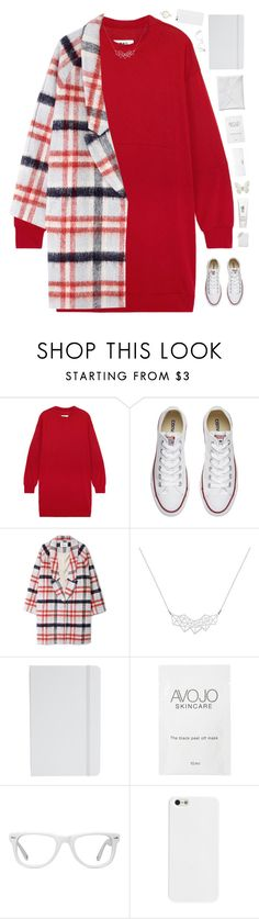 """Sipping the tea ☕️"" by genesis129 ❤ liked on Polyvore featuring Conair, MM6 Maison Margiela, Converse, Ganni, A Weathered Penny, ASOS, H2O+, Muse and River Island"