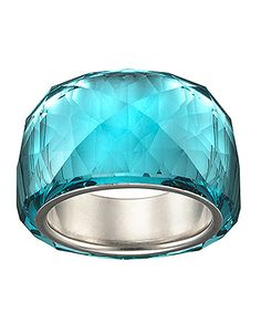Nirvana Indicolite Crystal Ring from Swavorski! #lordandtaylor