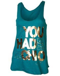 """You had me at Chi O"" aw, what a cute bid day shirt this would make! (crazy alum status?)"