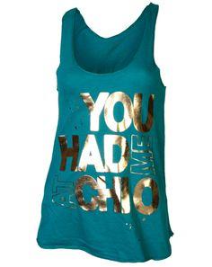 """You had me at Chi O"" aw, what a cute bid day shirt this would make! (crazy alum status?)"