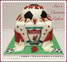 Liverpool FC cake Football, Liverpool, soccer