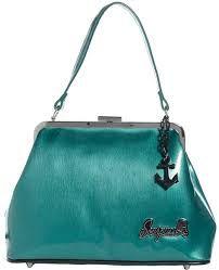 Image result for vintage purse teal